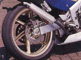 NSR250SP R4J Rear Wheel