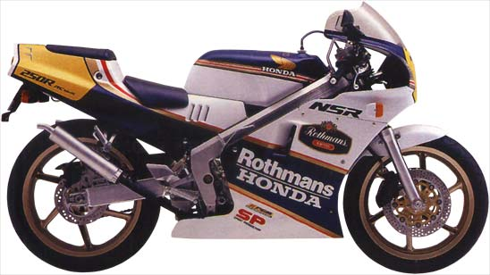 1988 NSR250SP R4J Rothmans Edition