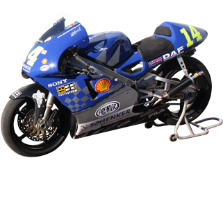 Ant West's NSR500V GP bike...