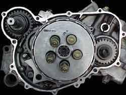 nsr engine rebuild page  nsr250 wet clutch bottom end